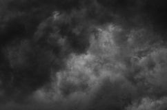thunderclouds Stock Fotografie