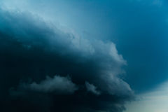 Thunderclouds, bad weather Royalty Free Stock Photography