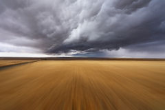 Thunderclouds. Montana, the USA Royalty Free Stock Images