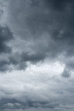 Thunderclouds over horizon. Royalty Free Stock Images