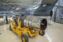 Thunderflash республики rf-84f Стоковые Изображения