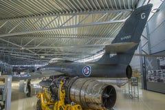 Thunderflash республики rf-84f Стоковая Фотография