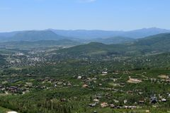 Thunderhead Trail, Steamboat Springs, Colorado Royalty Free Stock Photo