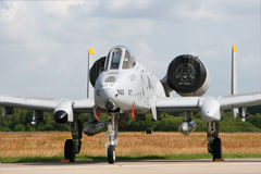 A-10 Thunderolbt Foto de Stock Royalty Free