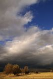 thunderstorm ήλιων στοκ εικόνα