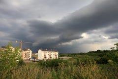 thunderstorm Royaltyfria Foton