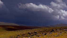 Thunderstorm. In mountains of Armenia Royalty Free Stock Images
