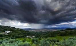 thunderstorm Arkivfoto