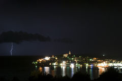 thunderstorm Στοκ φωτογραφίες με δικαίωμα ελεύθερης χρήσης