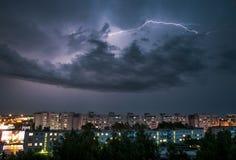 thunderstorm Fotografia Stock Libera da Diritti