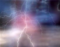 thunderstorm Imagens de Stock
