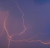 thunderstorm Στοκ Φωτογραφίες