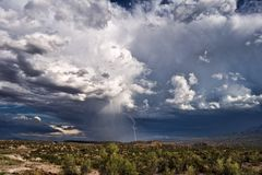thunderstorm Stockfoto