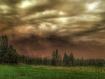 thunderstorm imagem de stock