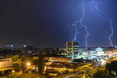 Free Thunderstorm Stock Images - 99176694