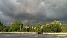 Thunderstorm cloud Stock Photo