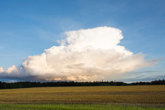 Thunderstorm cloud Royalty Free Stock Photo