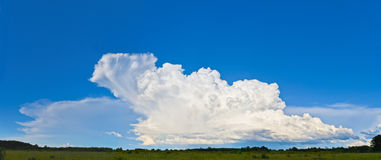 Thunderstorm cloud Stock Photos