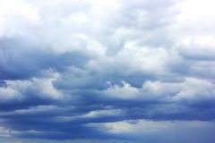 Thunderstorm clouds Royalty Free Stock Photography
