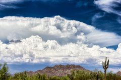 Thunderstorm clouds Royalty Free Stock Image