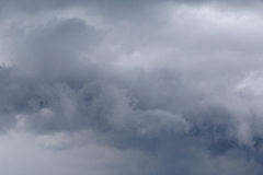 Thunderstorm clouds in a sky Royalty Free Stock Photography