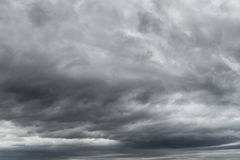 Thunderstorm Clouds Texture Royalty Free Stock Photography