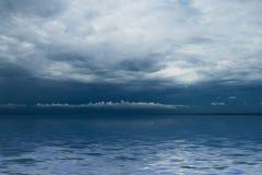 Thunderstorm cloudscape Stock Image