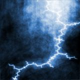 Thunderstorm lightning Royalty Free Stock Photography