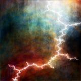 Thunderstorm lightning Stock Photo