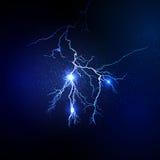 Thunderstorm and lightnings Magic Stock Image