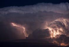 Thunderstorm Arkivbild