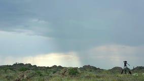Thunderstorm stock footage