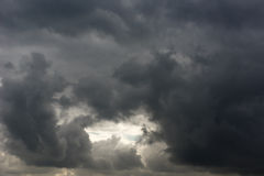 Thunderstorm Sky Stock Image
