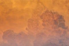 Thunderstorm över Kansas City Missouri Arkivfoton