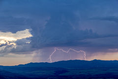Lightning Strike Stock Photo