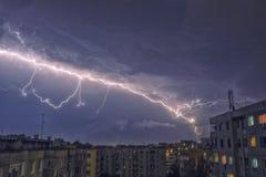 Thunderstrike Arkivbild