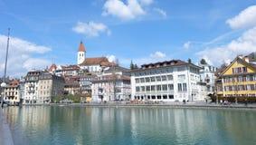 Thunersee,瑞士 库存照片