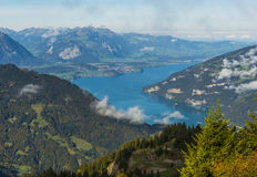 Thunersee in Berner Oberland Royalty Free Stock Photography