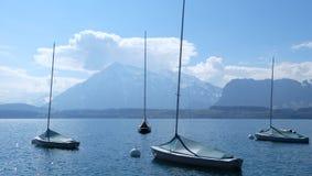 Thunersee Schweiz Royaltyfri Bild