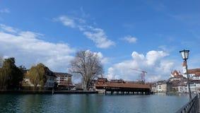 Thunersee Schweiz Fotografering för Bildbyråer