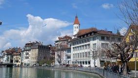 Thunersee Schweiz Royaltyfria Bilder