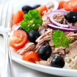Thunfisch-Salat Lizenzfreie Stockbilder