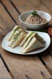 Thunfisch-Sandwich Lizenzfreie Stockfotografie