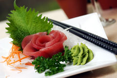 Thunfisch-Sushi Lizenzfreies Stockbild