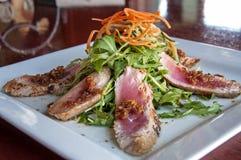 Thunfisch tartare Stockfoto
