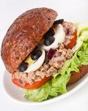 Thunfisch- und Eisandwich Lizenzfreies Stockfoto