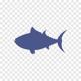 Thunfischikone Lizenzfreie Abbildung