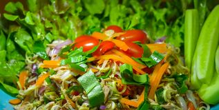 Thunfischsalat für Abendessen Lizenzfreie Stockfotografie