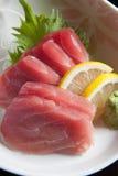 Thunfischsashimi Lizenzfreie Stockbilder