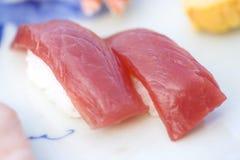 Thunfischsushi Lizenzfreie Stockbilder